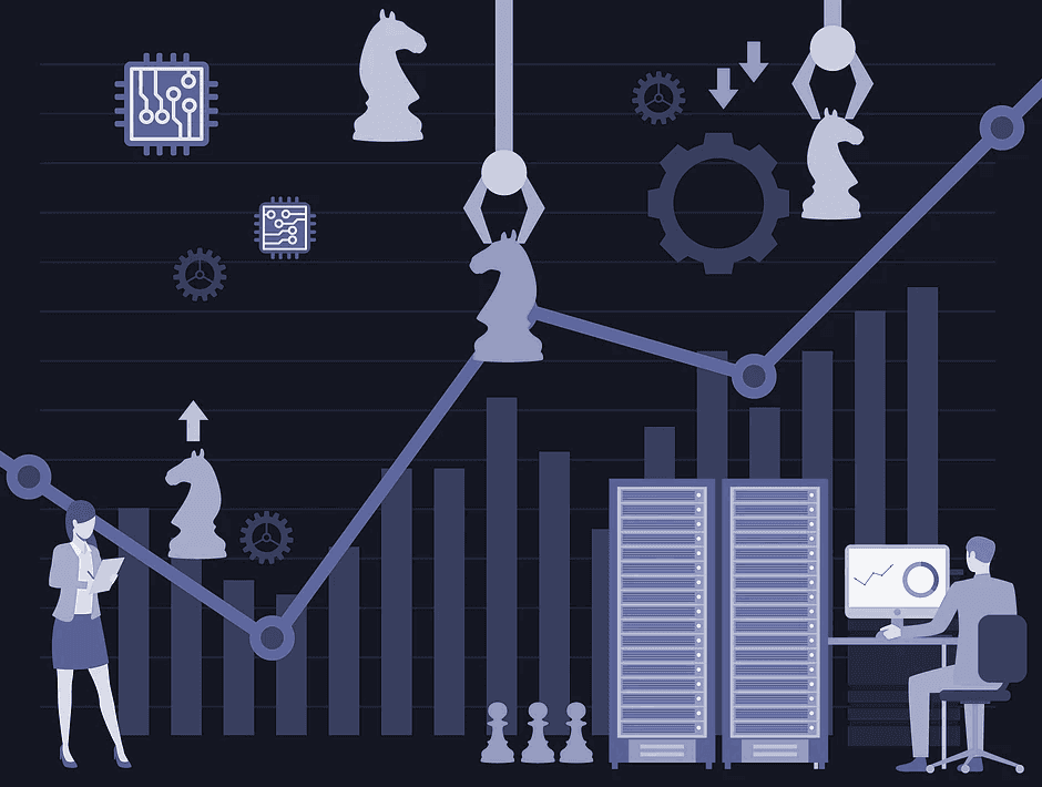 Comparison of AI and chess to investing